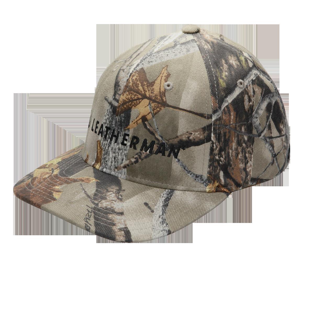 Camo Flexfit Baseball Logo Hat