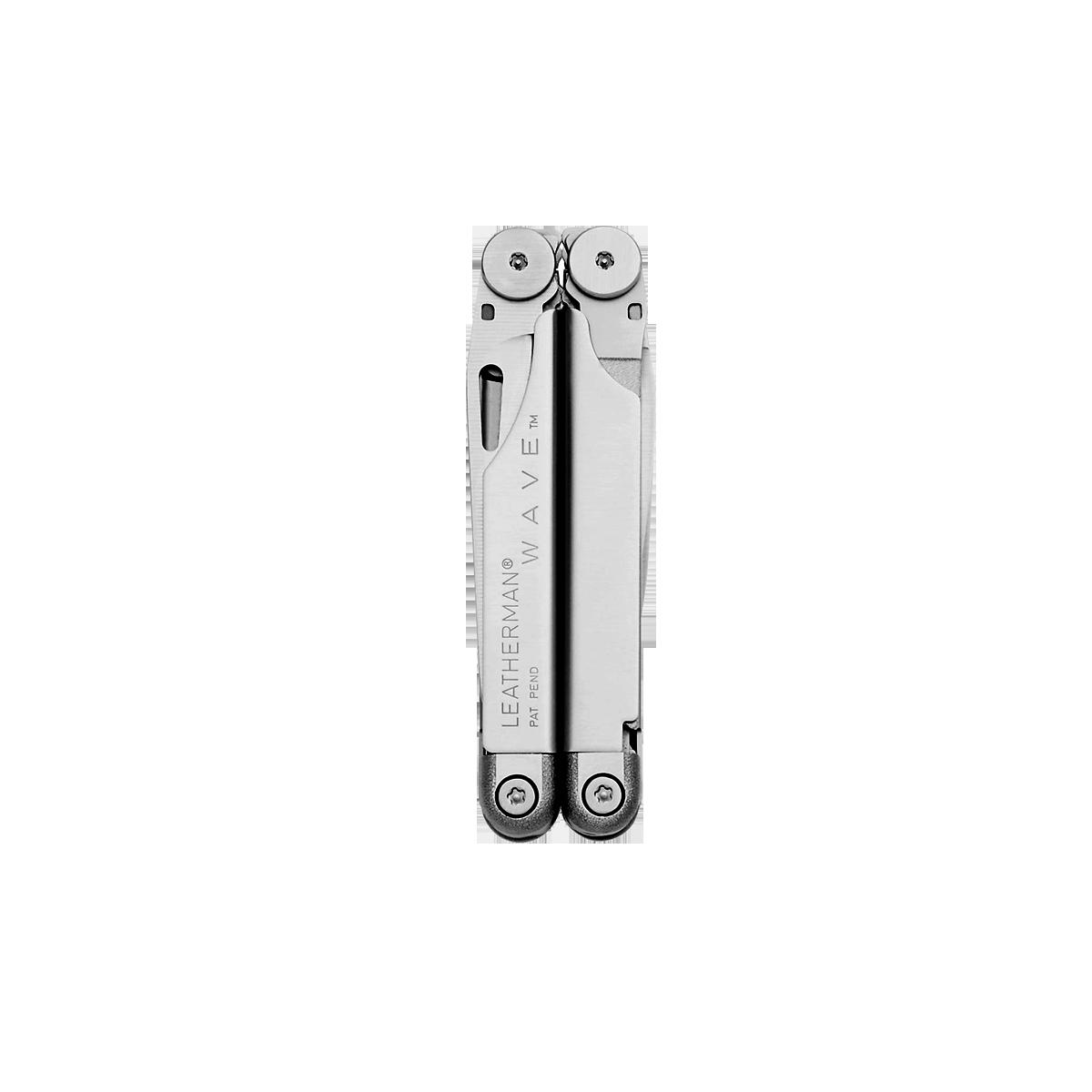 Leatherman original wave multi-tool, stainless steel, closed view