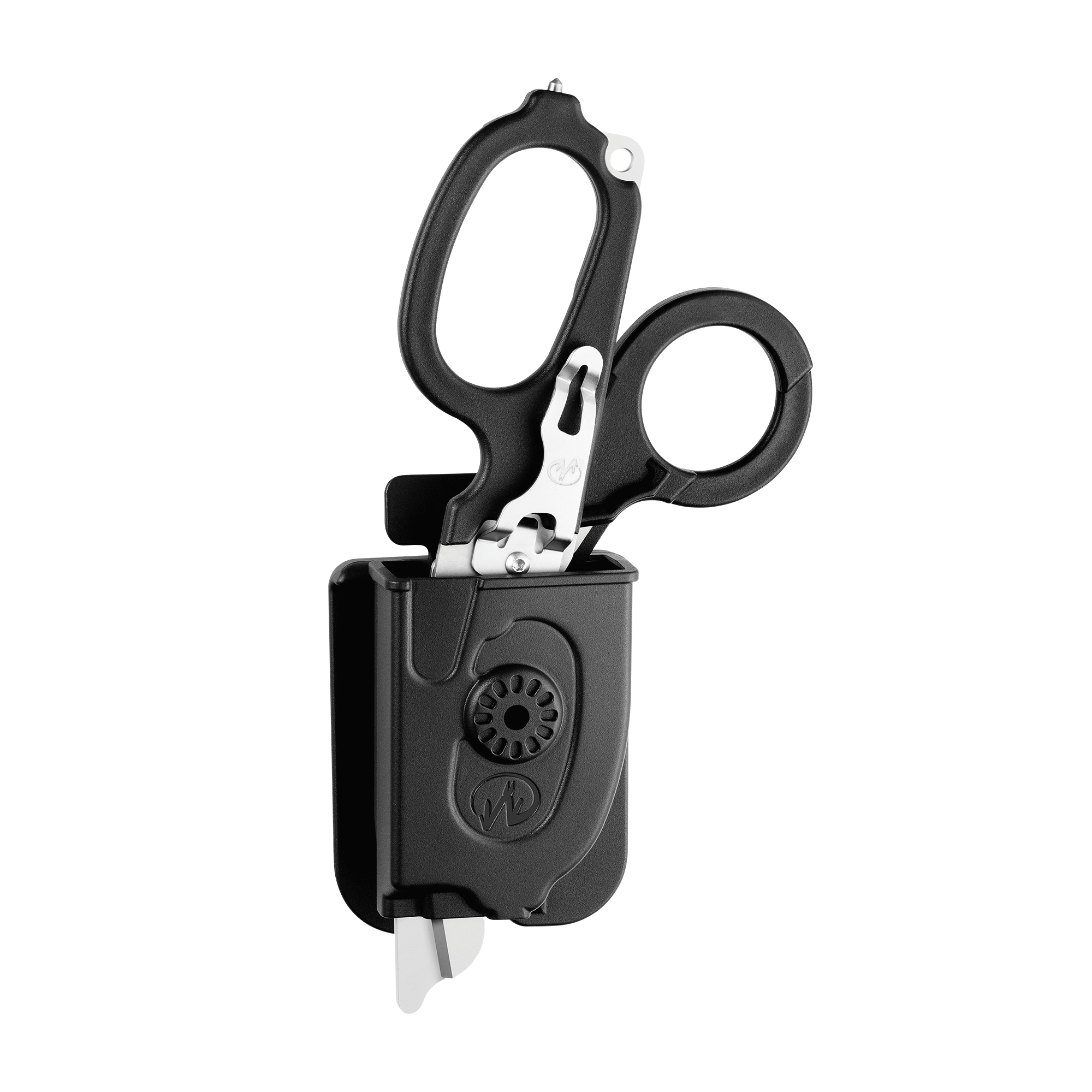 Leatherman Signal shears, black, in holster
