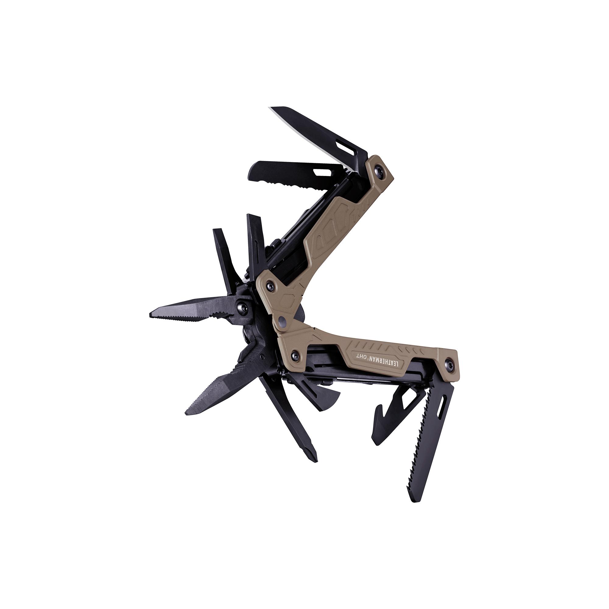 Leatherman OHT multi-tool, coyote tan, 16 tools