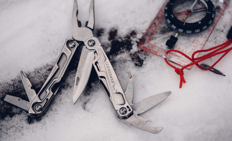 Leatherman 832127 Rev Stainless Steel Multi-tool With Pocket Clip
