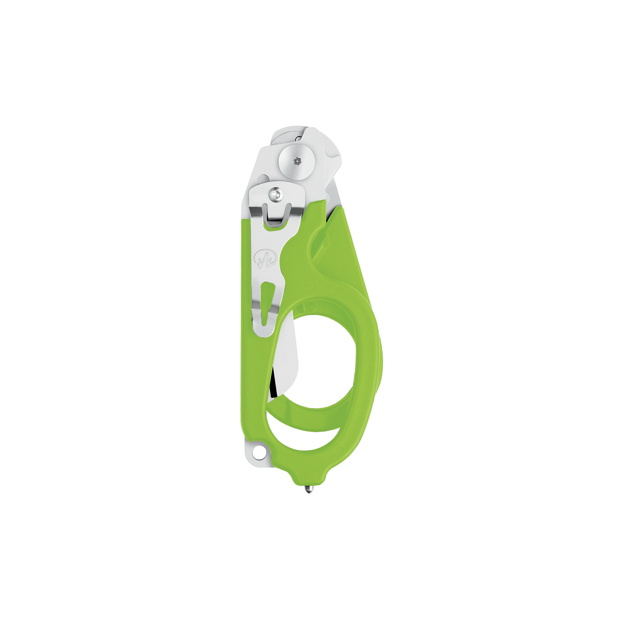 Leatherman Signal shears, green, closed view