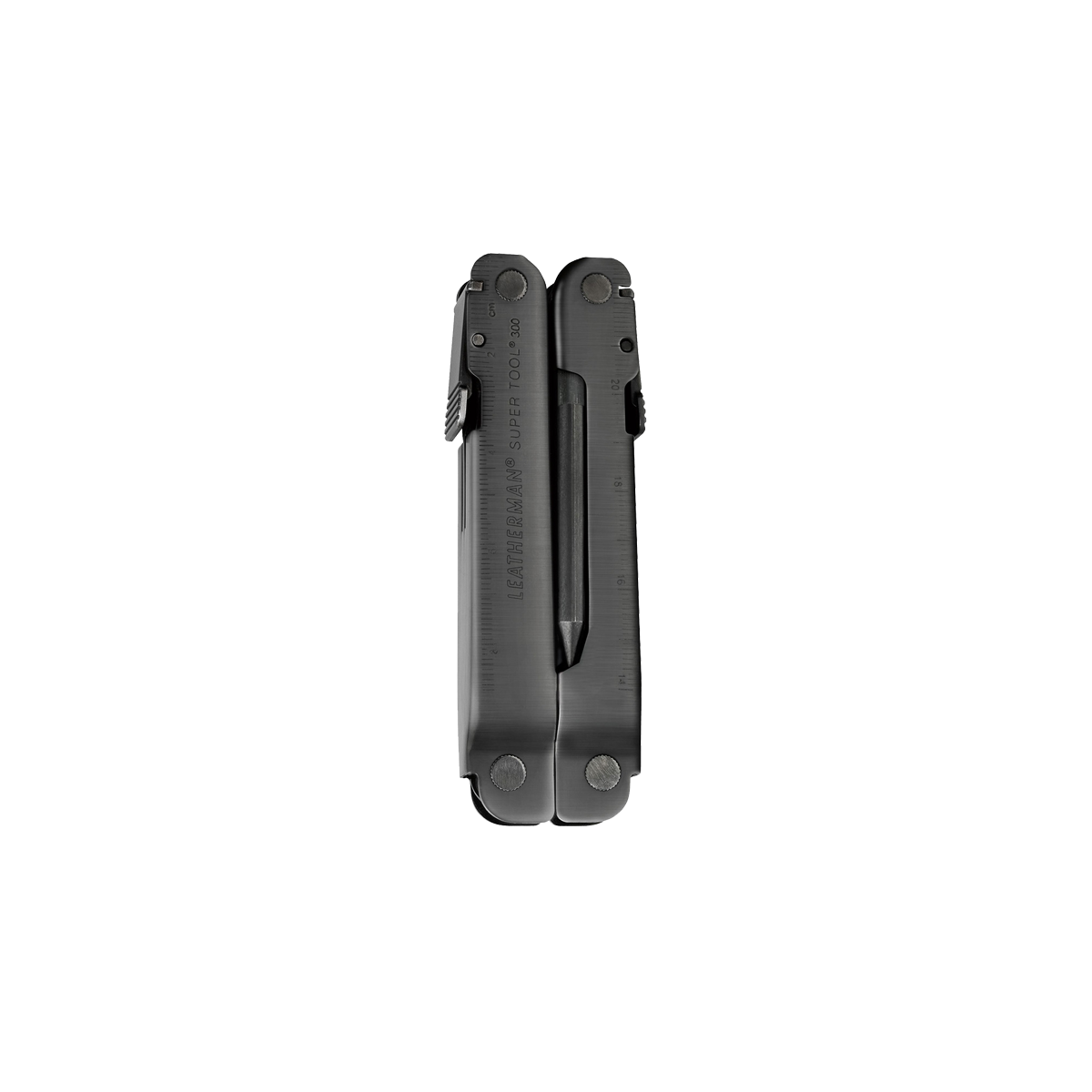 Leatherman super tool 300 eod multi-tool, closed view, black,