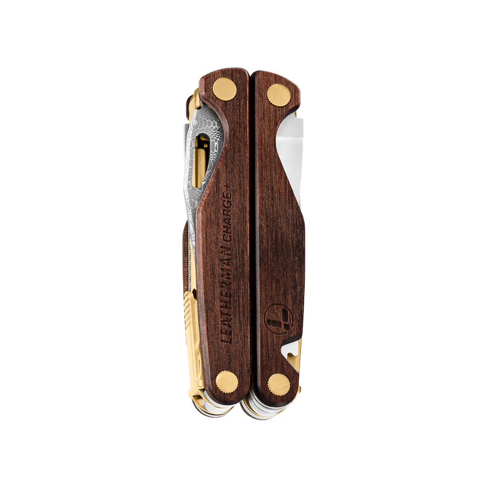 Leatherman limited edition Charge® Plus multi-tool, classic wood handles, closed