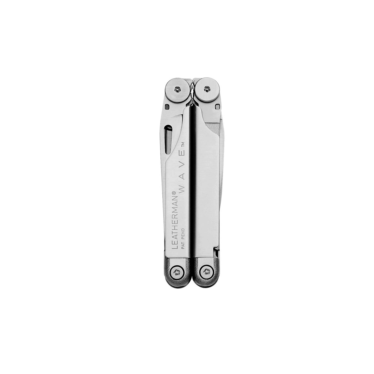 Leatherman original wave multi-tool, stainless steel, closed view